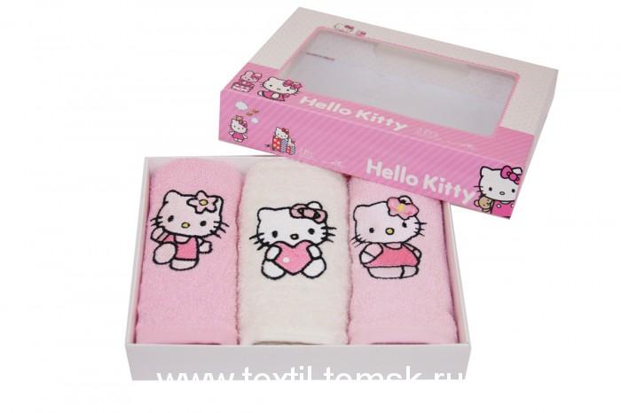Детские махровые полотенца SCOSSA c вышивкой
